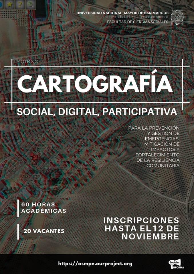Curso cartografia social participativa